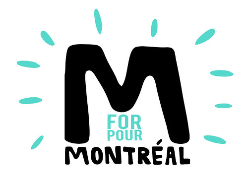 M FOR MONTREAL LOGO