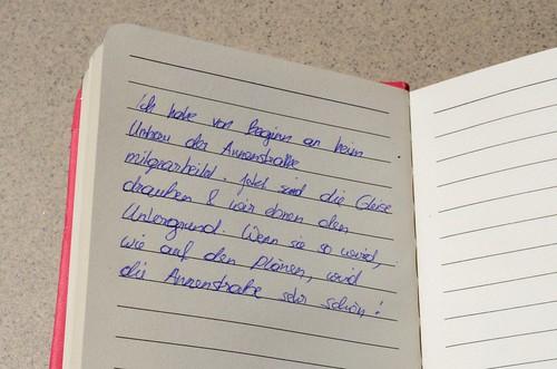 Lukas Tagebucheintrag