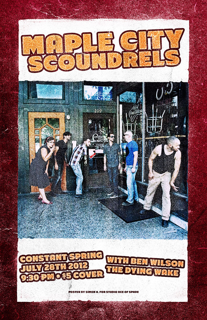 Maple City Scoundrels at the Constant Spring
