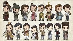 Raymond Lam Character Cartoons