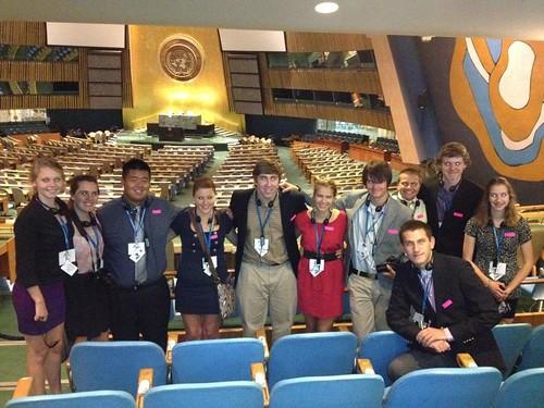 NSLC INTL United Nations Visit
