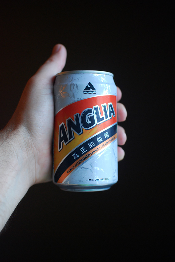 a can of Anglia Shandy