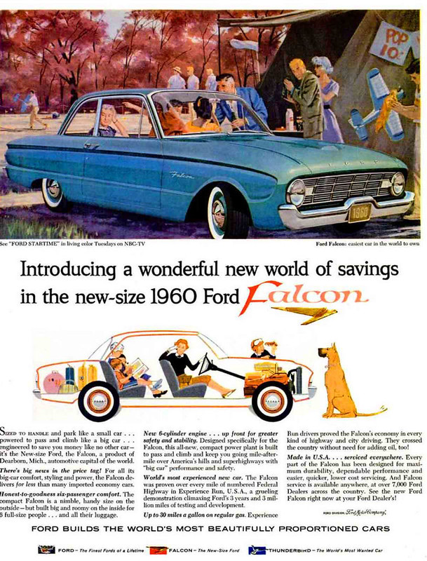 1960 Ford Falcon advertisement