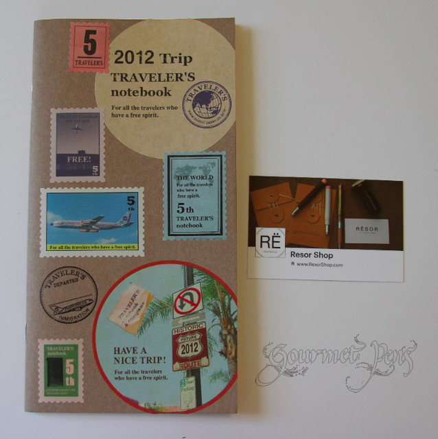 Resor Shop Custom Travel Notebook