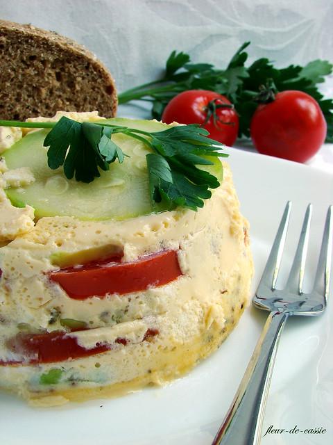 тимбал кабачок-томат 2