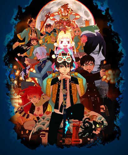 120724(2) - 劇場版《青の祓魔師》將在12/28上映、推出最新海報!小說改編電視動畫版《まおゆう魔王勇者》公開第一張宣傳海報!