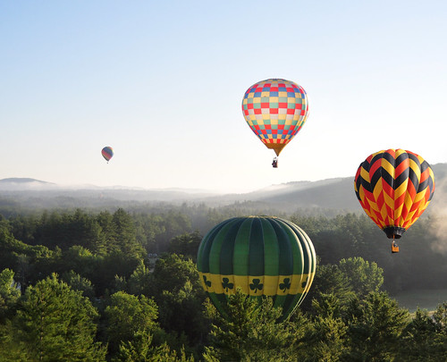 Balloons Over New Hampshire