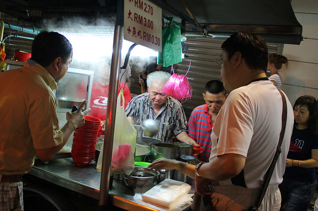 Lebuh Chulia, Street Food