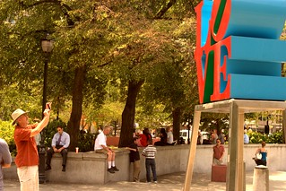 LOVE in the Afternoon, Thursday, July 5, 2012 #LOVEPublicArt