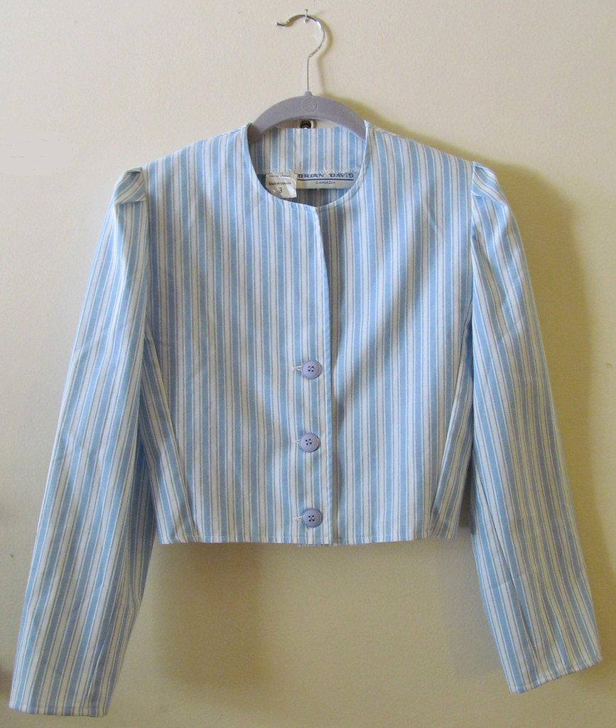 Striped Summer Jacket Front