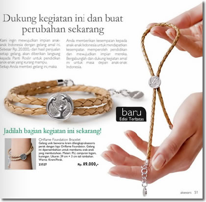 Charity-Bracelet-Oriflame-1