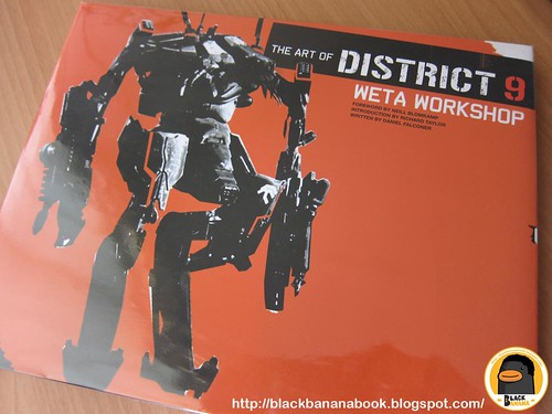 The Art of District 9 Weta Workshop_cover