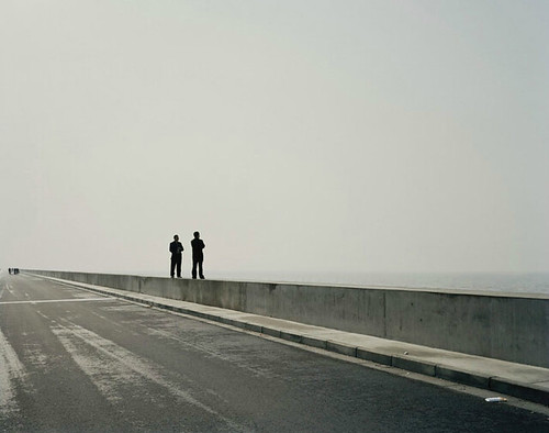 Nadav Kander, Mouth VI, near Shanghai