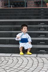 浴衣とらちゃん@恵比寿ガーデンプレイス (2012/7/29)