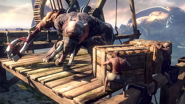 Elephantaur - God of War: Ascension for PS3