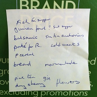 Most middle class shopping list ever #otherpeoplesshoppinglists