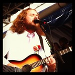 No better way to end the day than @MyMorningJacket at @NewportFolkFest - by @WFUV