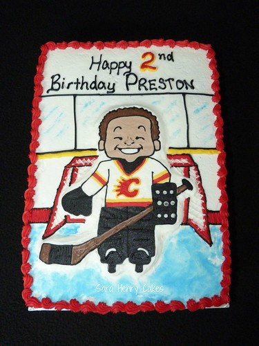 Off Season Hockey cake