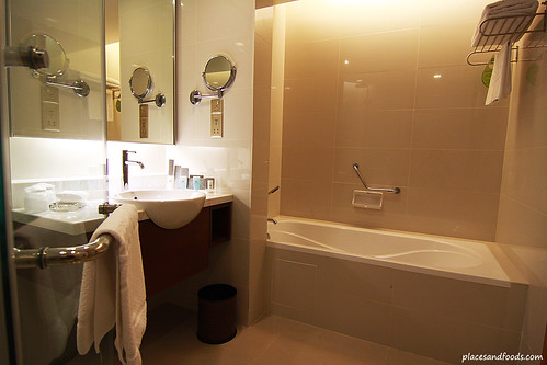 Equatorial hotel penang bathroom overview