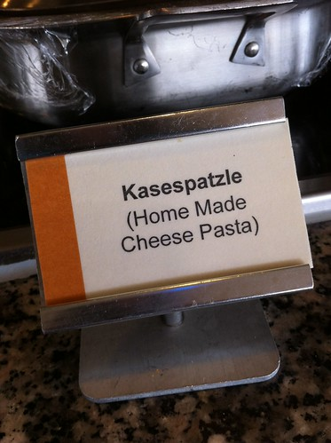 Norwegian Pearl - German Buffet - Cheese Spatzle