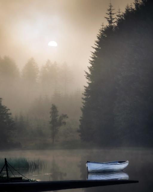 Loch Rusky, Misty Sunrise