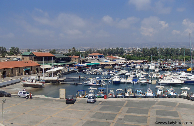View of harbour from fort