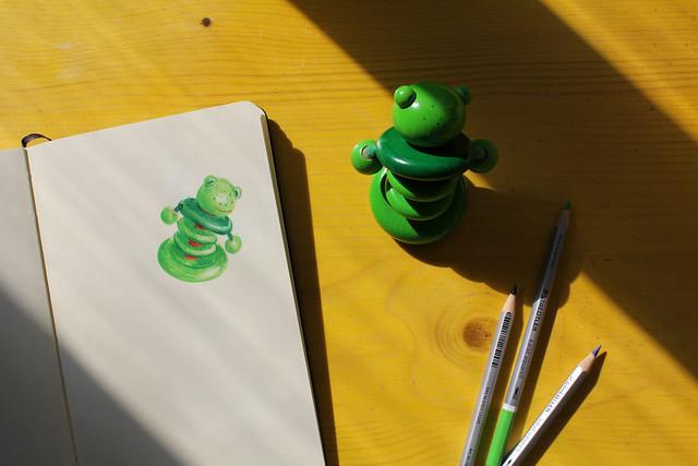 frog-drawing