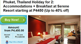 3D/2N Serene Resort Phuket Promo for 2