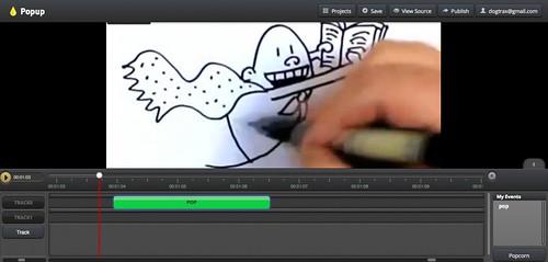 Mozilla Popcorn Popup Videos
