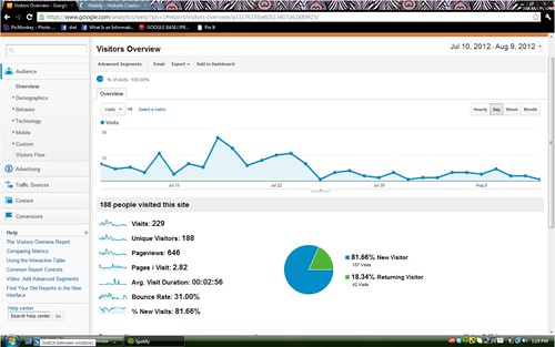 Leah Website Analytics