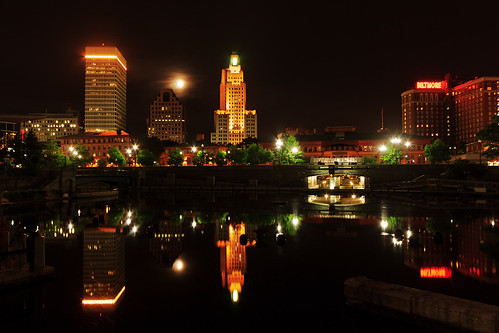 Providence Skyline by mike_dooley