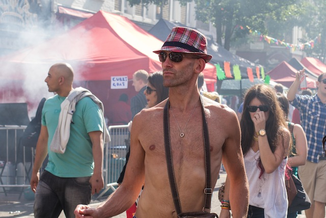 Stranger at the Notting Hill Carnival