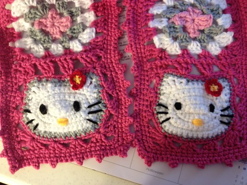Hello Kitty Scarf by ElizabethTore