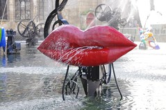 L'Amour (Love) part of the Stavinsky Fountain - Pompidou Centre