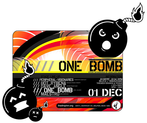 One Bomb promo & fundraiser event by thedropinn