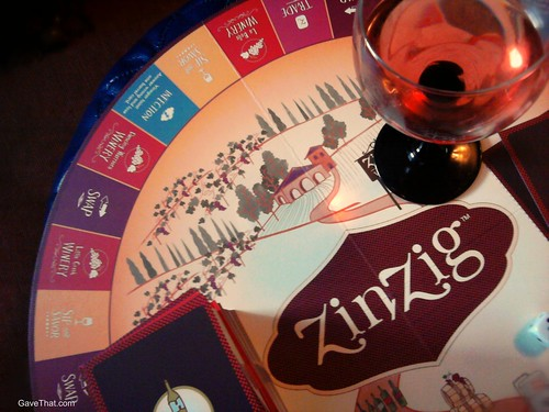 ZinZig Wine Tasting Game
