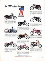1972 Harley Davidson Advertisement Hot Rod Magazine April 1972