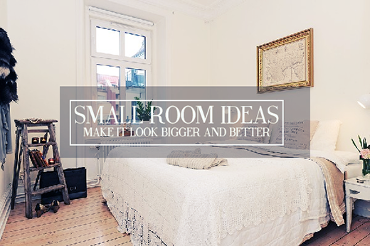 small room ideas, apartment living