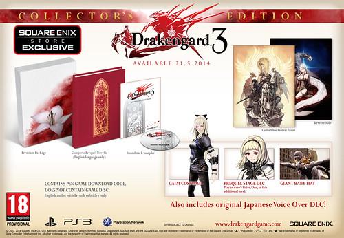 Коллекционное издание Drakengard 3