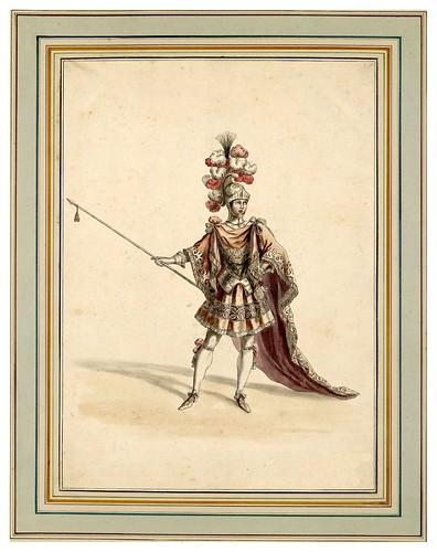 003-Carrousel des galans Maures de Grenade…1685- Jean Berain- INHA