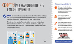 Fight the Fake: Myth 1 : Only Branded medicines can be counterfeit