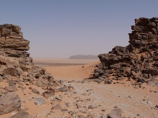 Clayton Craters (Desierto de Libia, Egipto)