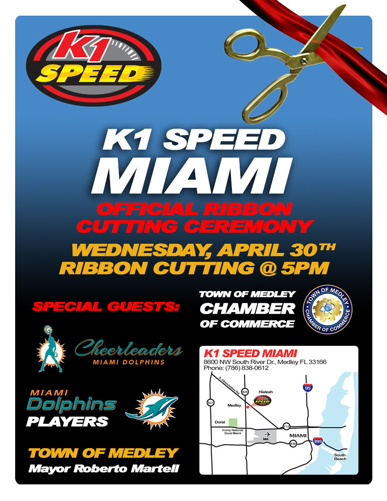 13912014984 22412f0867 b K1 Speed Miami Ribbon Cutting Ceremony