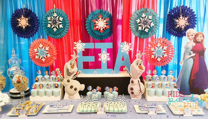 Disney Frozen Birthday Packages