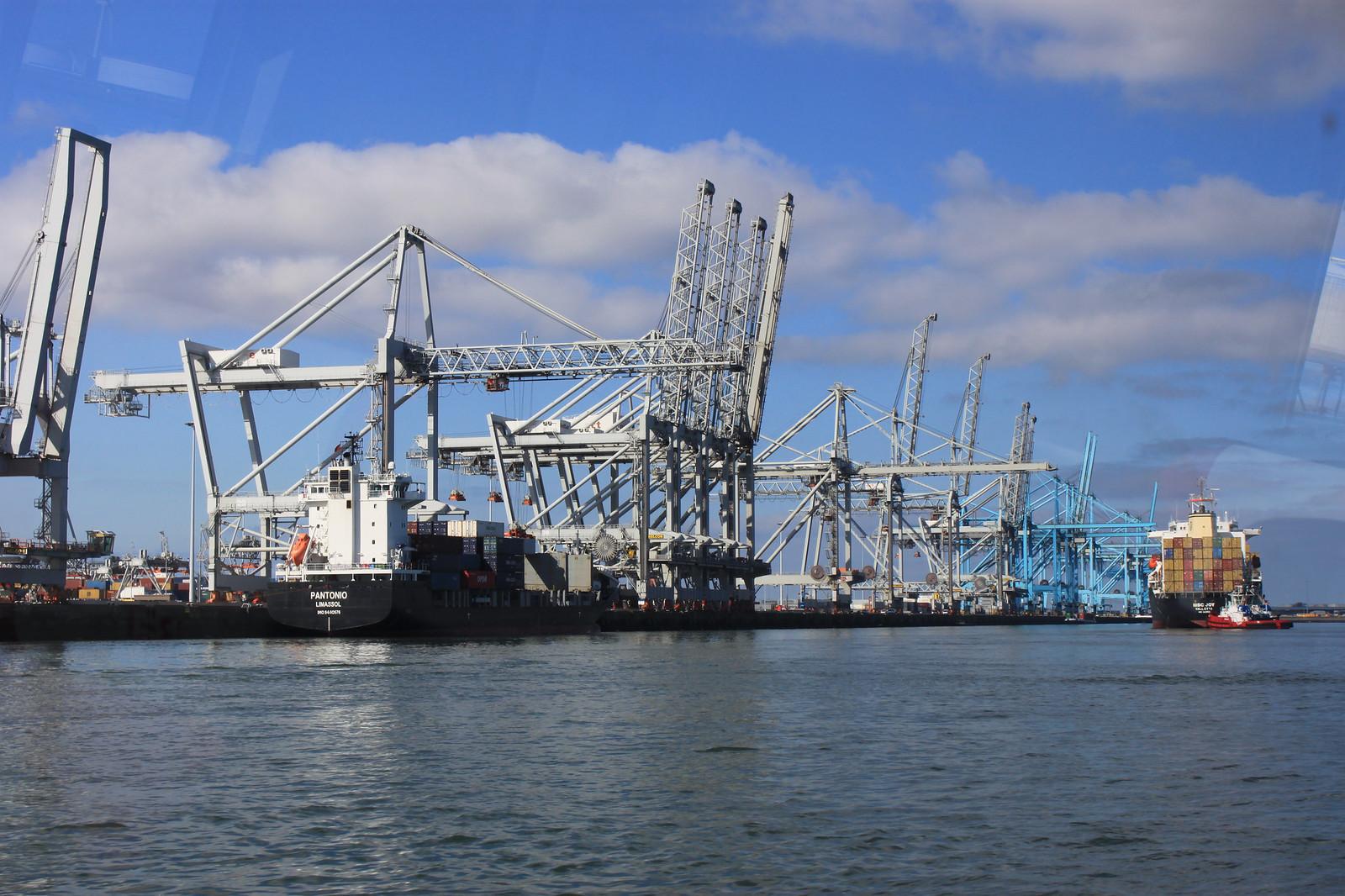Rotterdamin satama on Euroopan suurin satama ja koko maailman mittapuun mukaan Shanghain ja Singaporen jälkeen sijalla kolme. Rahtia tuon sataman kautta kulkee vuosittain n. 430 milj. tonnia.