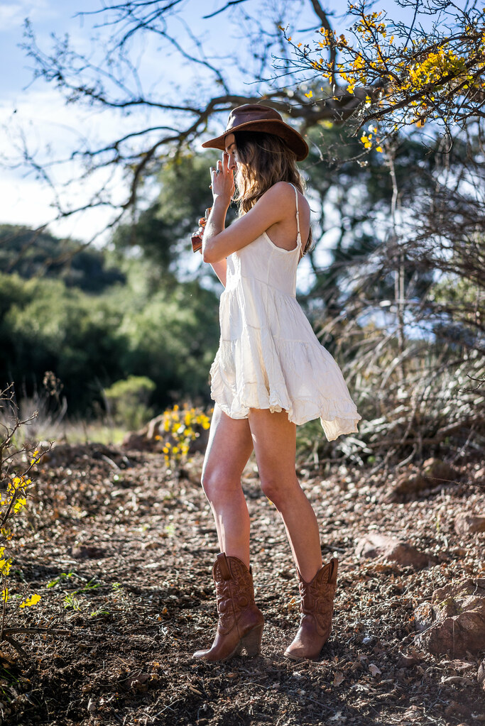 fbd71a23561 Beautiful Cowgirl in Cowboy Boots   Cowboy Hat! With Golden Gun! Gold 45  Revolver Lingerie Model Goddess by 45SURF Hero s Odyssey Mythology  Landscapes   ...