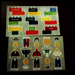 Lego Moleskine. Two addictions in one.