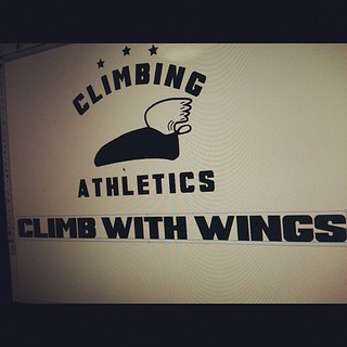 Working on new climbing athletics ! 'climb with wings'  fun to share retro things!