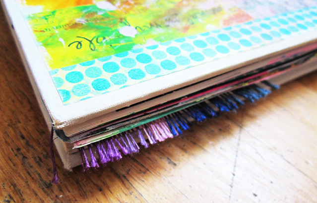 Art Journal edge