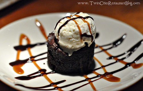 Chocolate Lava Cake at Big Bowl ~ Roseville, MN